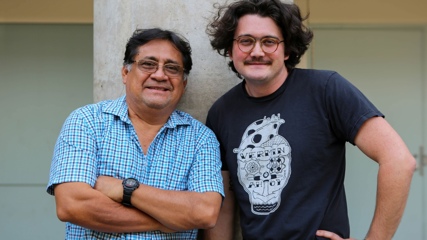 Víctor Terán and David Shook discuss the music of Isthmus Zapotec and poetry translated for Like A New Sun.
