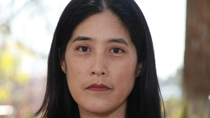Author, Victoria Chang.