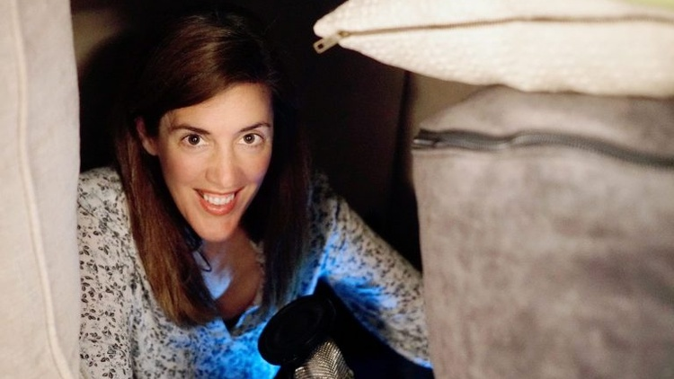 Building a pillow fort in the basement with her daughter for a school assignment inspired Janel Rogers Schermerhorn to do something she's always wanted to do: Podcast.