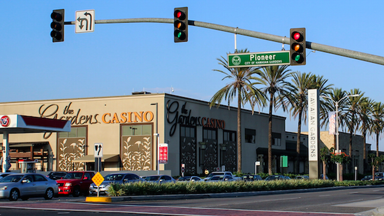 When KCRW listener Chris Koenig drove past a couple of casinos less than 30 minutes outside of downtown L.A., she thought it was pretty weird.