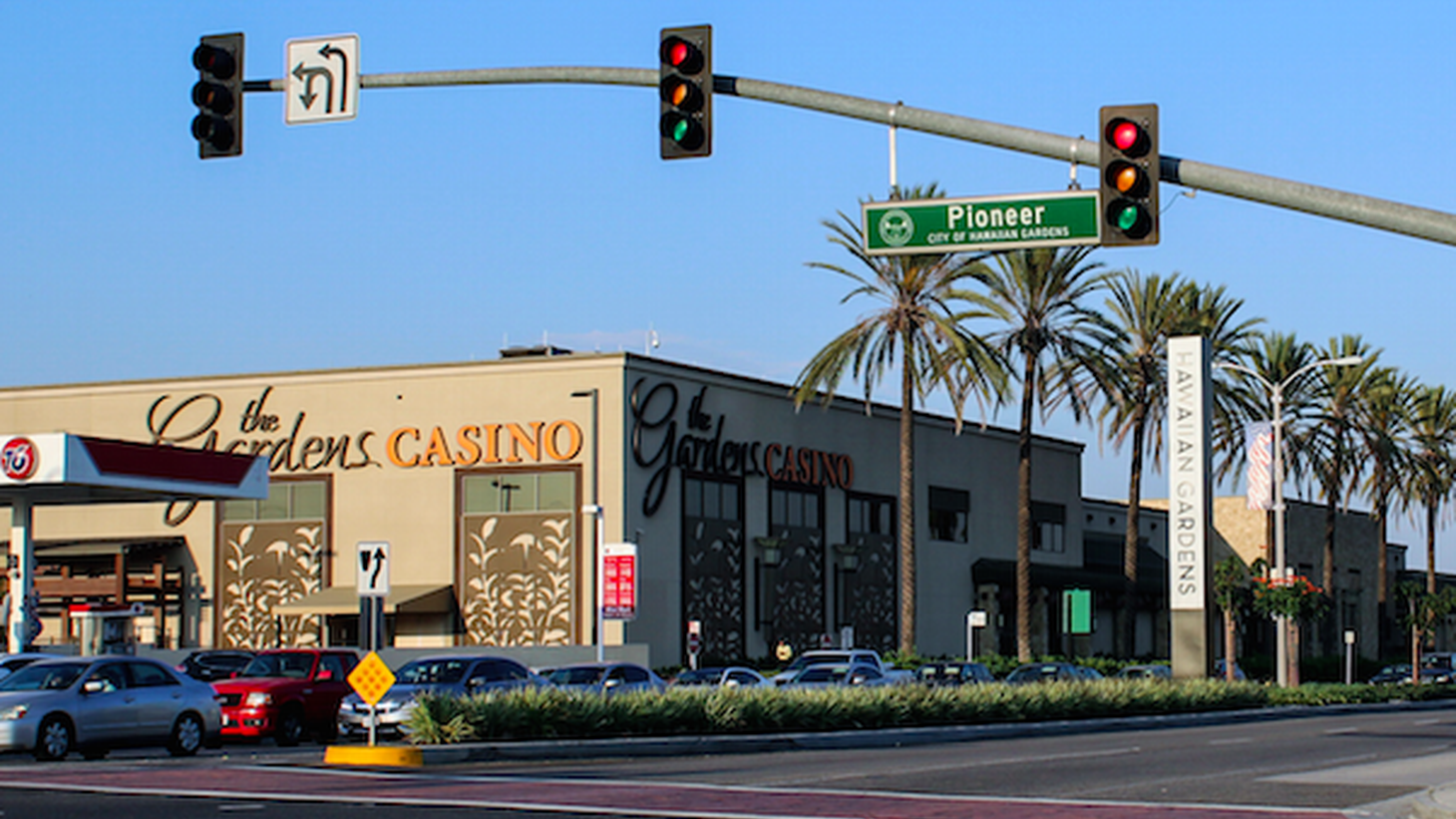 "When KCRW listener Chris Koenig drove past a couple of casinos less than 30 minutes outside of downtown L.A., she thought it was pretty weird. ""Why are there casinos in Hawaiian Gardens and Bell Gardens?"" Koenig asked Curious Coast."