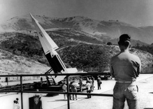 What's the history of the Nike missile base on Mulholland?