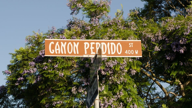 Many listeners have written into Curious Coast to ask about the origins of certain street names in Santa Barbara. One, in particular, is Canon Perdido.