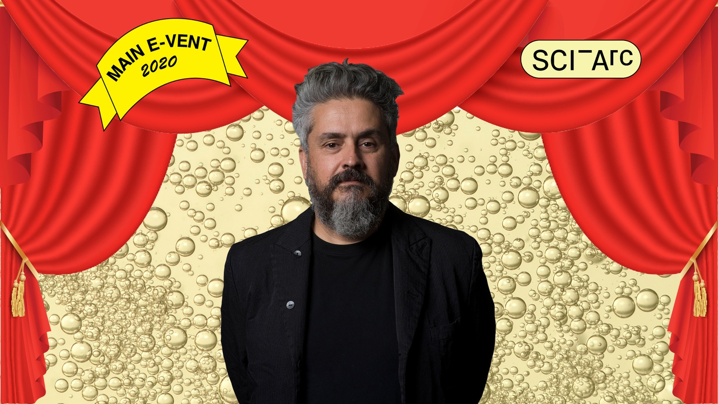 SCI-Arc moves its annual fundraising Main Event online and it's now an E-Vent, taking place Saturday, May 2. Shown, SCI-Arc Director Hernán Díaz Alonso.