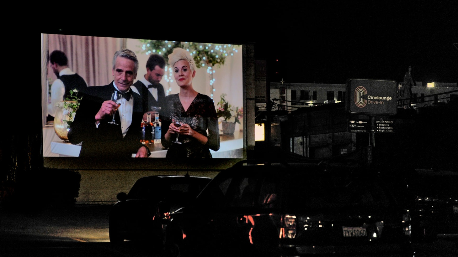 Art house theater Cinelounge has opened a boutique drive-in movie theater in the heart of Hollywood.