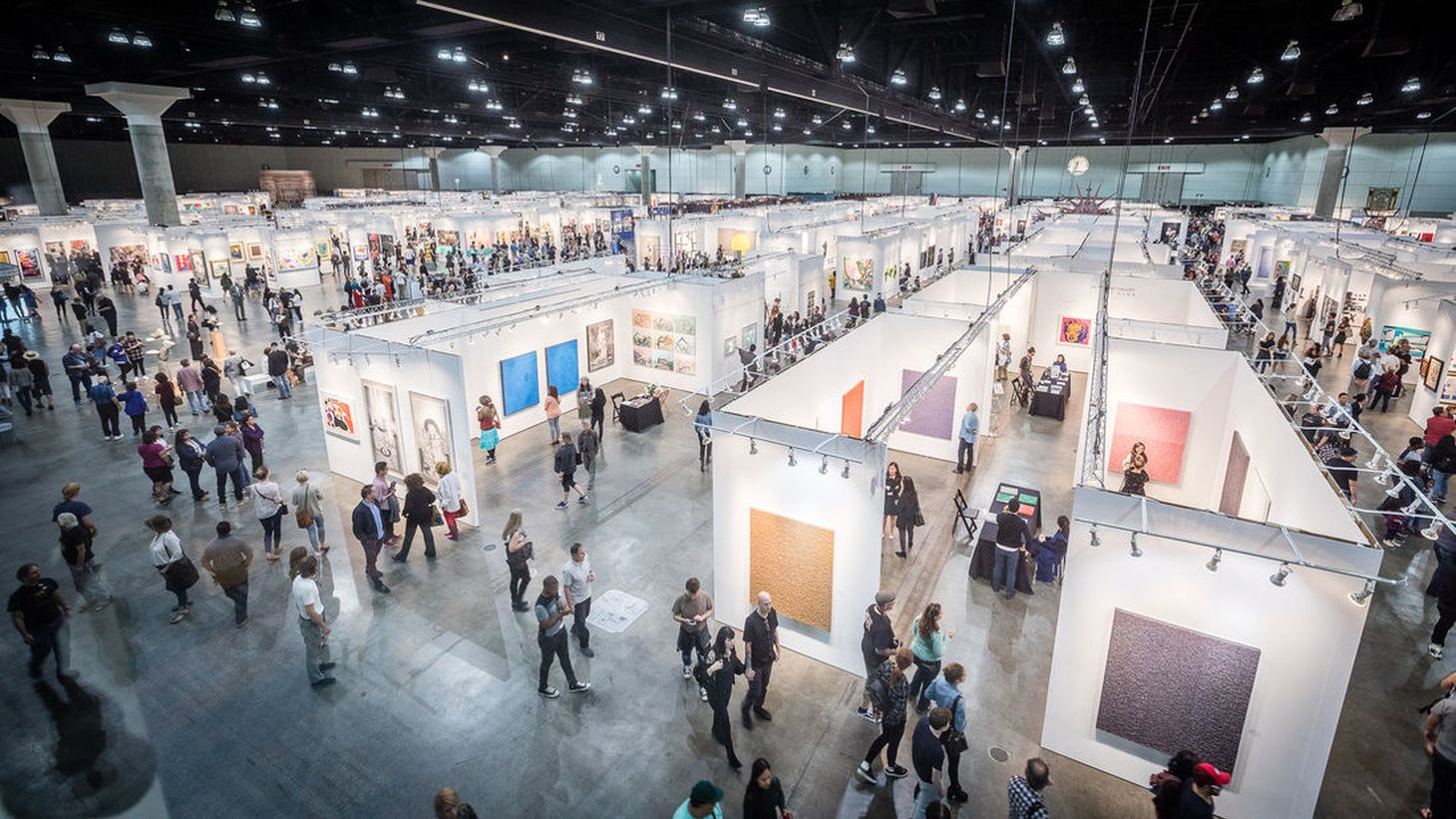 The L.A. Art Show comes to the Los Angeles Convention Center this weekend.