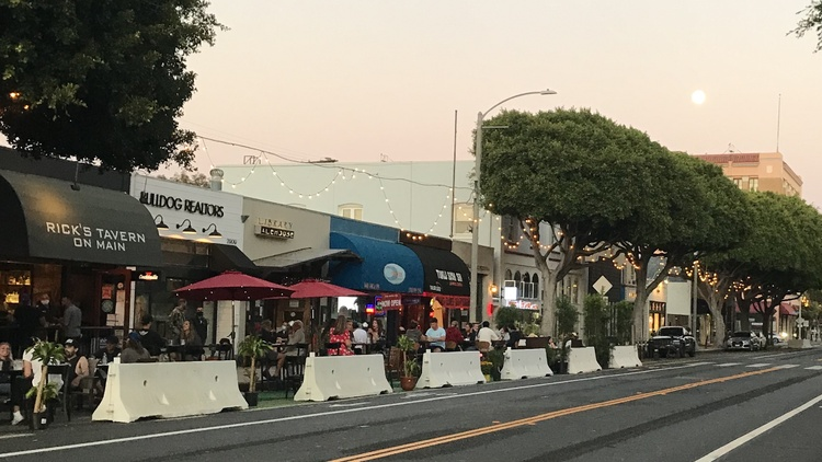 This week: Drive-ins are back for the summer, but restaurant dining has taken over parking lanes in Santa Monica; catch a podcast about objects in a museum and their hidden stories;…
