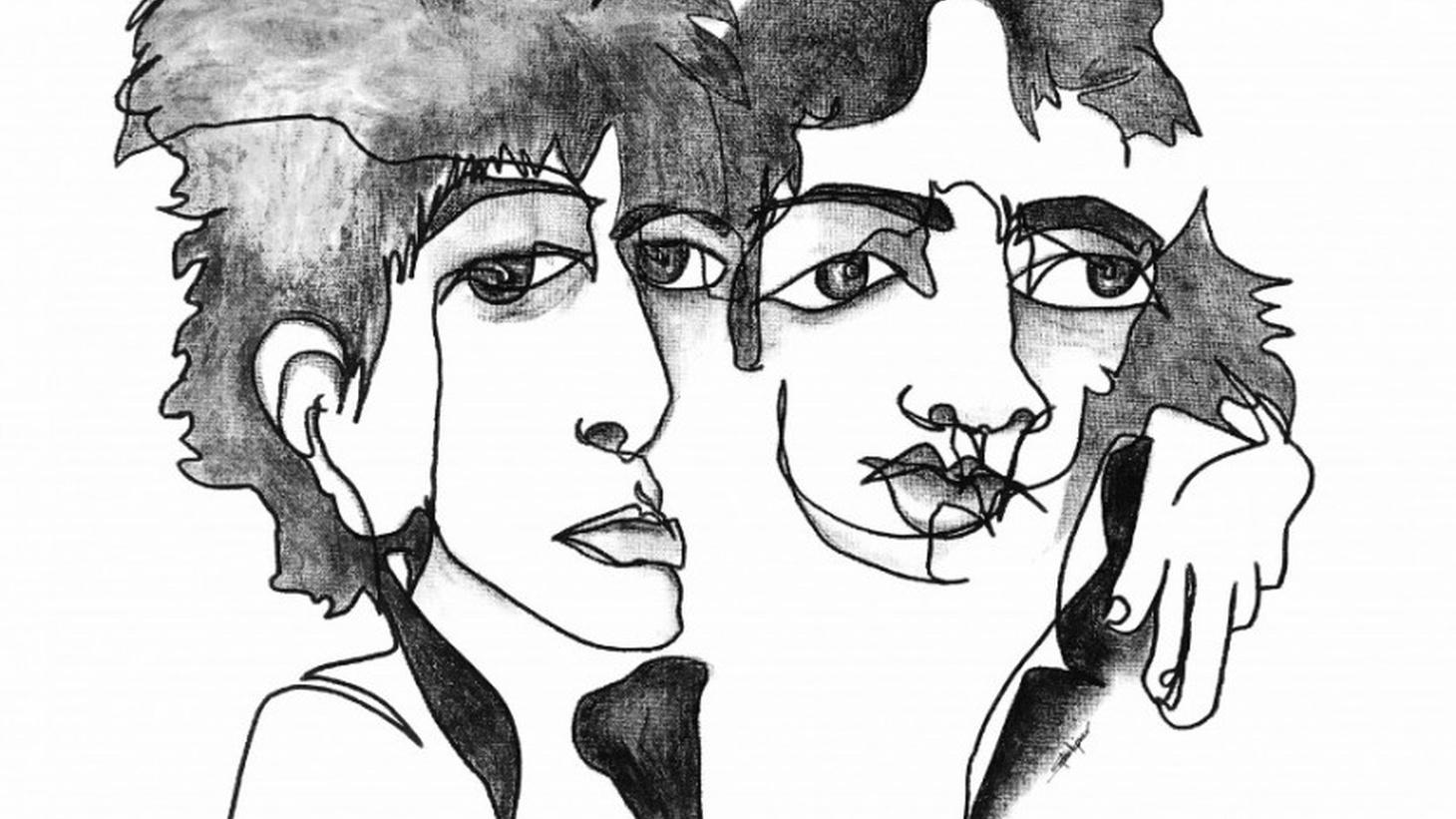 Sophie Kipner: Mick Jagger and Keith Richards