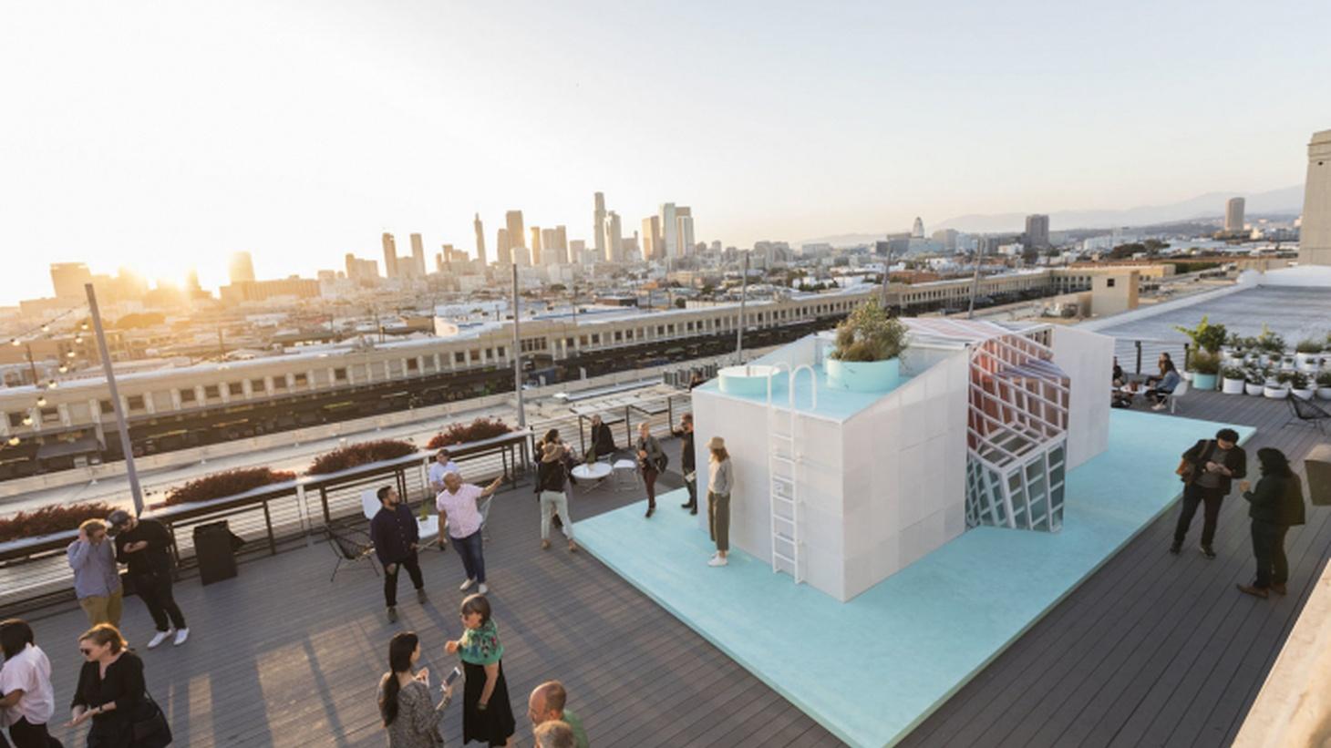 MINI LIVING Urban Cabin at LA Design Festival 2018 (Photo by Monica Orozco, courtesy LA Design Festival)