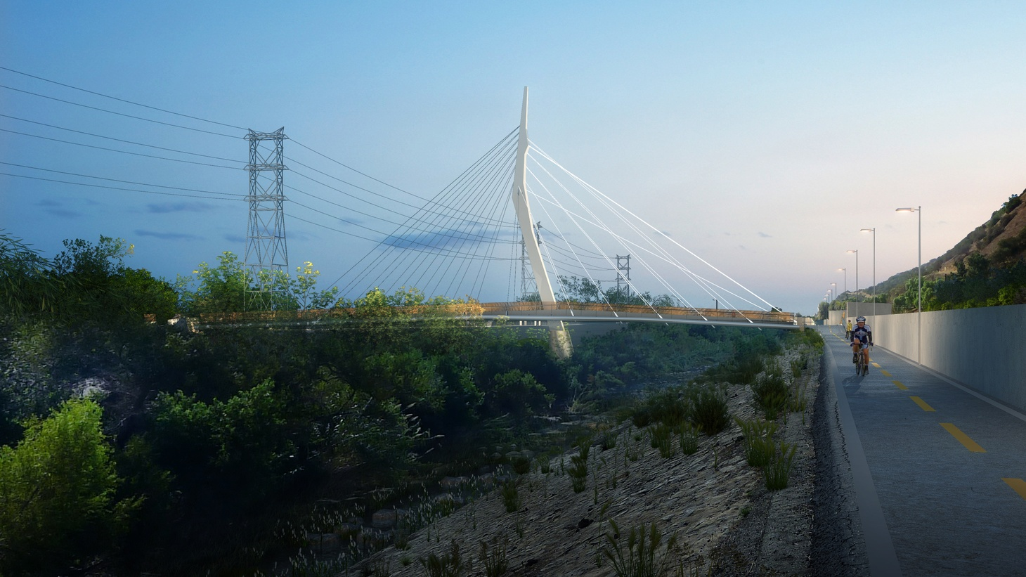 This week officials broke ground on a $16 million bridge over the LA River that connects Atwater Village and Griffith Park. You can walk or bike, or even ride a horse over it. One thing you can't do? Drive on it.