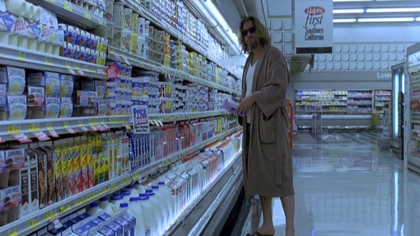 "The Dude abides. A still from ""The Big Lebowski"""
