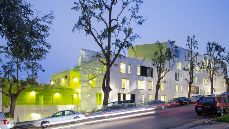 SL11024, a 31-unit housing complex designed by Lorcan O'Herlihy Architects, located in Westwood on the border of UCLA's campus   More than 7,000 apartments are under construction…