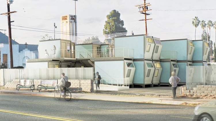 Tens of thousands of people are currently living on LA's streets.
