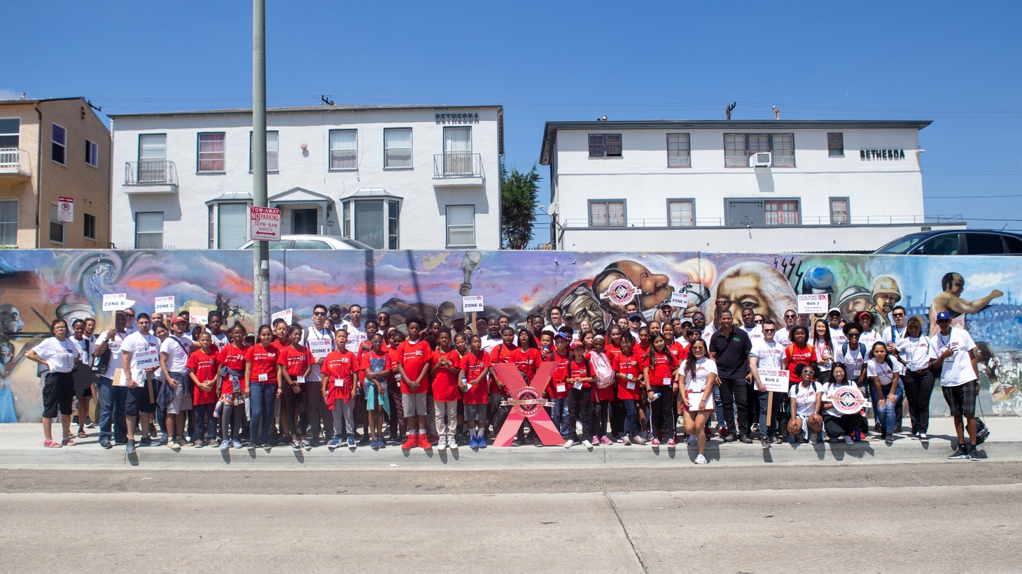 SoCalNOMA (National Organization of Minority Architects) holds a summer camp to introduce young people to careers in architecture.