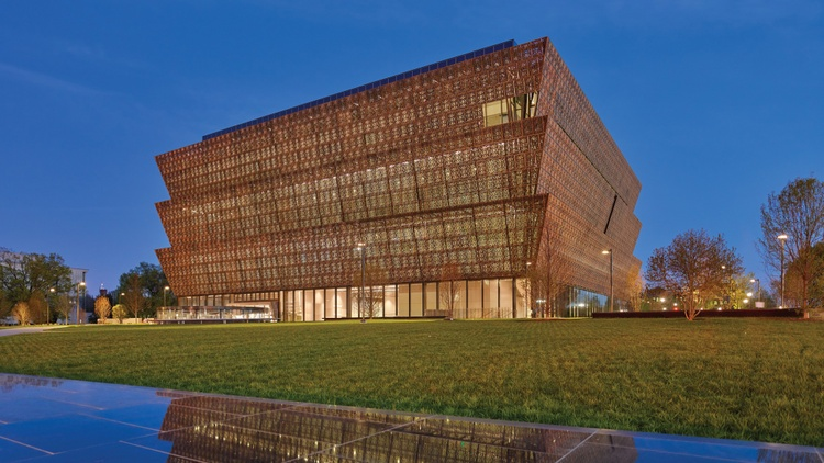 The architect Sir David Adjaye was born in Tanzania to a Ghanaian diplomat. He studied in London and found his first clients in Britain's art world.