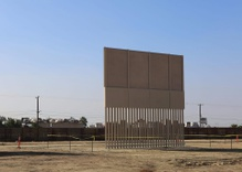 The US-Mexican border wall prototypes: a beautiful patch?