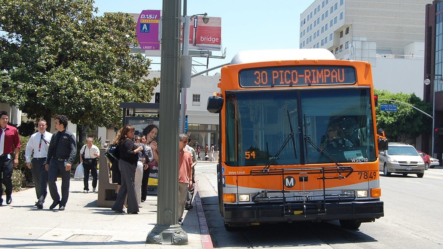 Ridership on LA Metro buses continues to decline across Los Angeles. Passengers say the service needs improvement. Metro now wants to overhaul the system's 170 lines and 15,000 stops, and is conducting a study due out in April, 2019. How are other cities dealing with this issue?
