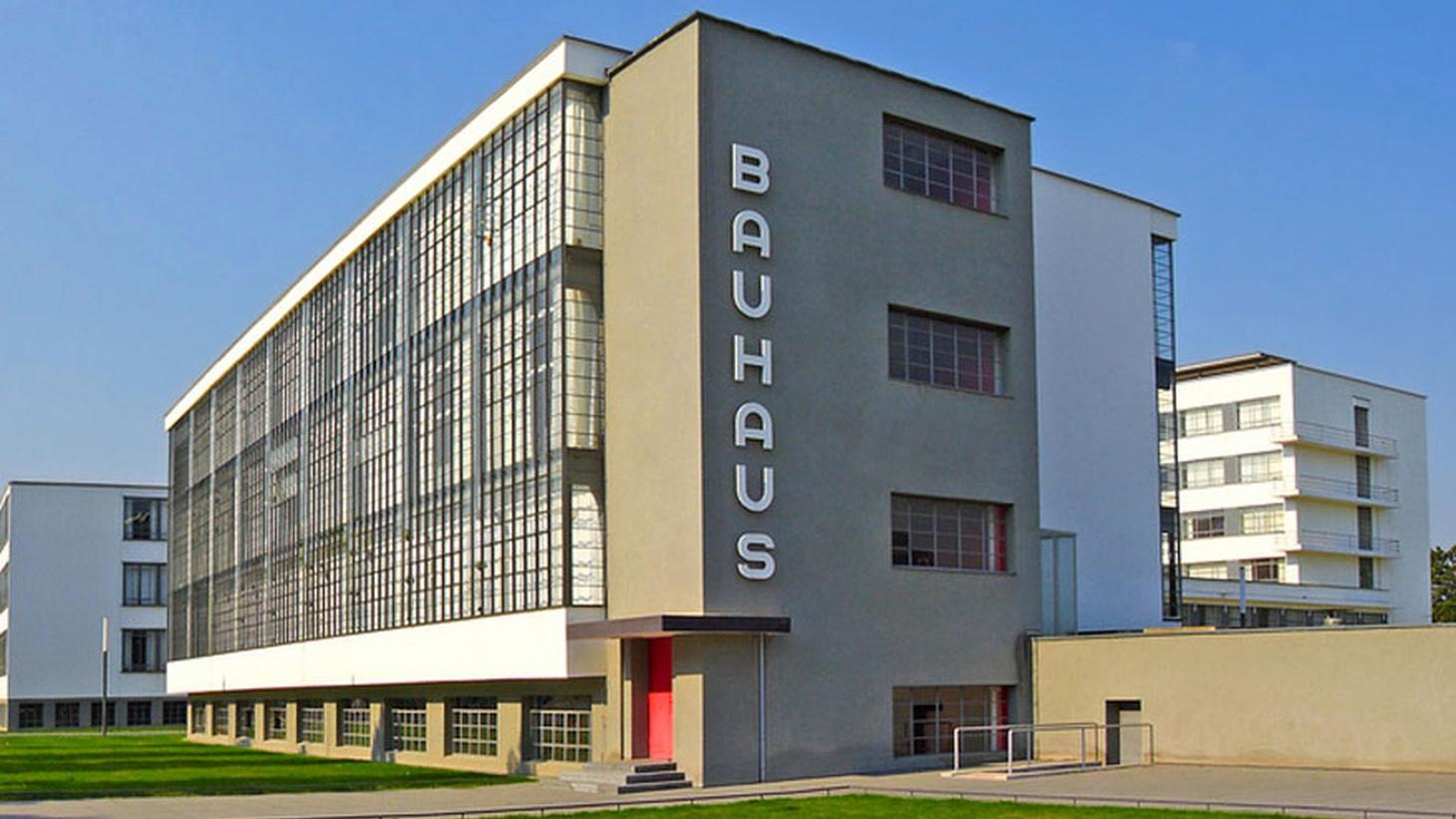 The Bauhaus building in Dessau.