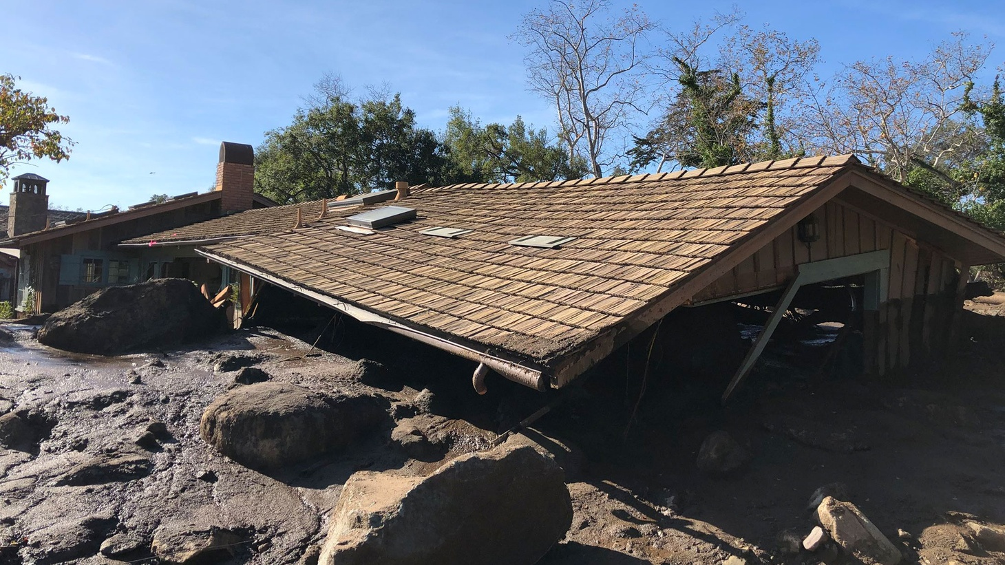 Authorities in Santa Barbara County are performing rescue operations as mudslides and debris have led to multiple deaths, dozens of injuries and have left hundreds of people trapped in their homes.