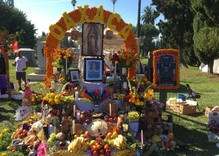 Capturing LA's water, Day of the Dead