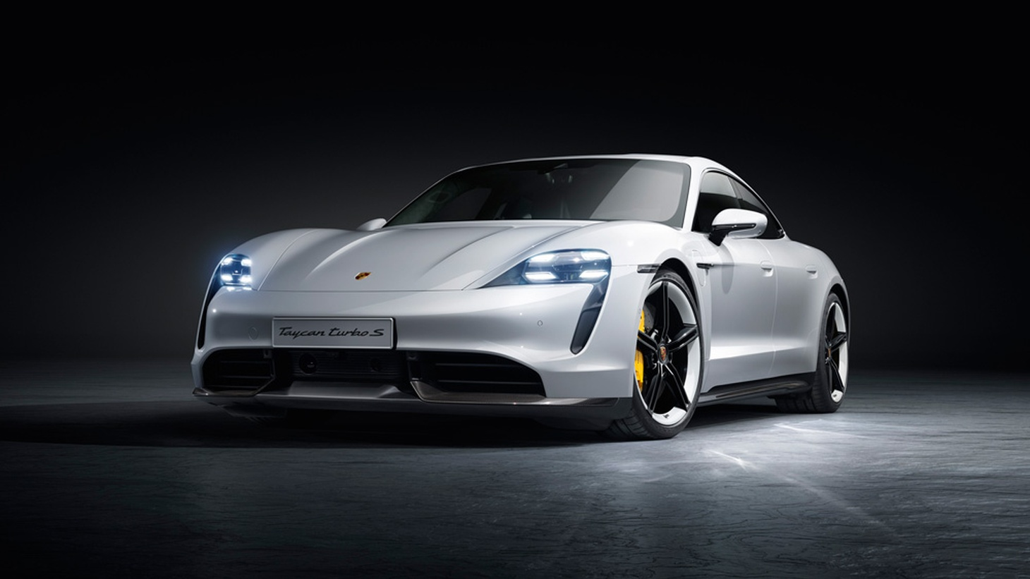 The 750 hp Taycan Turbo S can zoom from zero to 60 mph in 2.8 seconds using launch control.