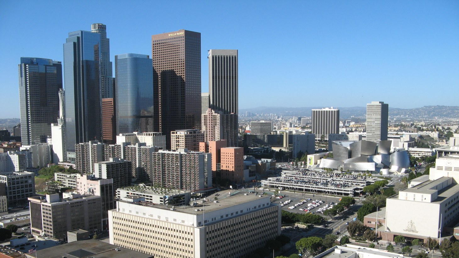 The Central Business District (CBD) in downtown Los Angeles is typical of CBDs in global cities around the world. Could coronavirus cause a reset for urban values?