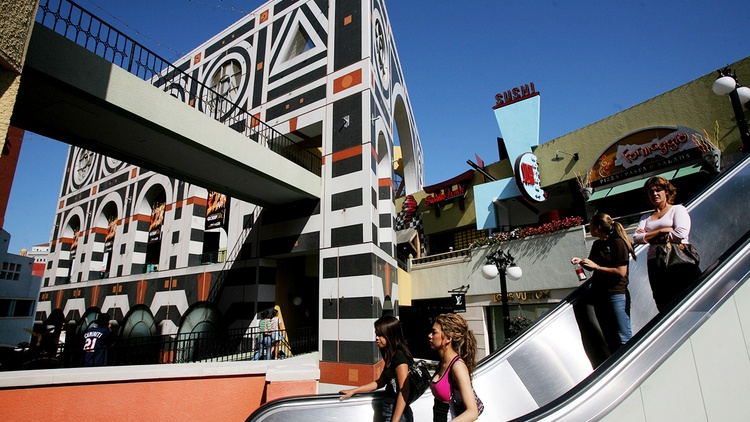 Creating buzz in the city: Ian Schrager; Horton Plaza