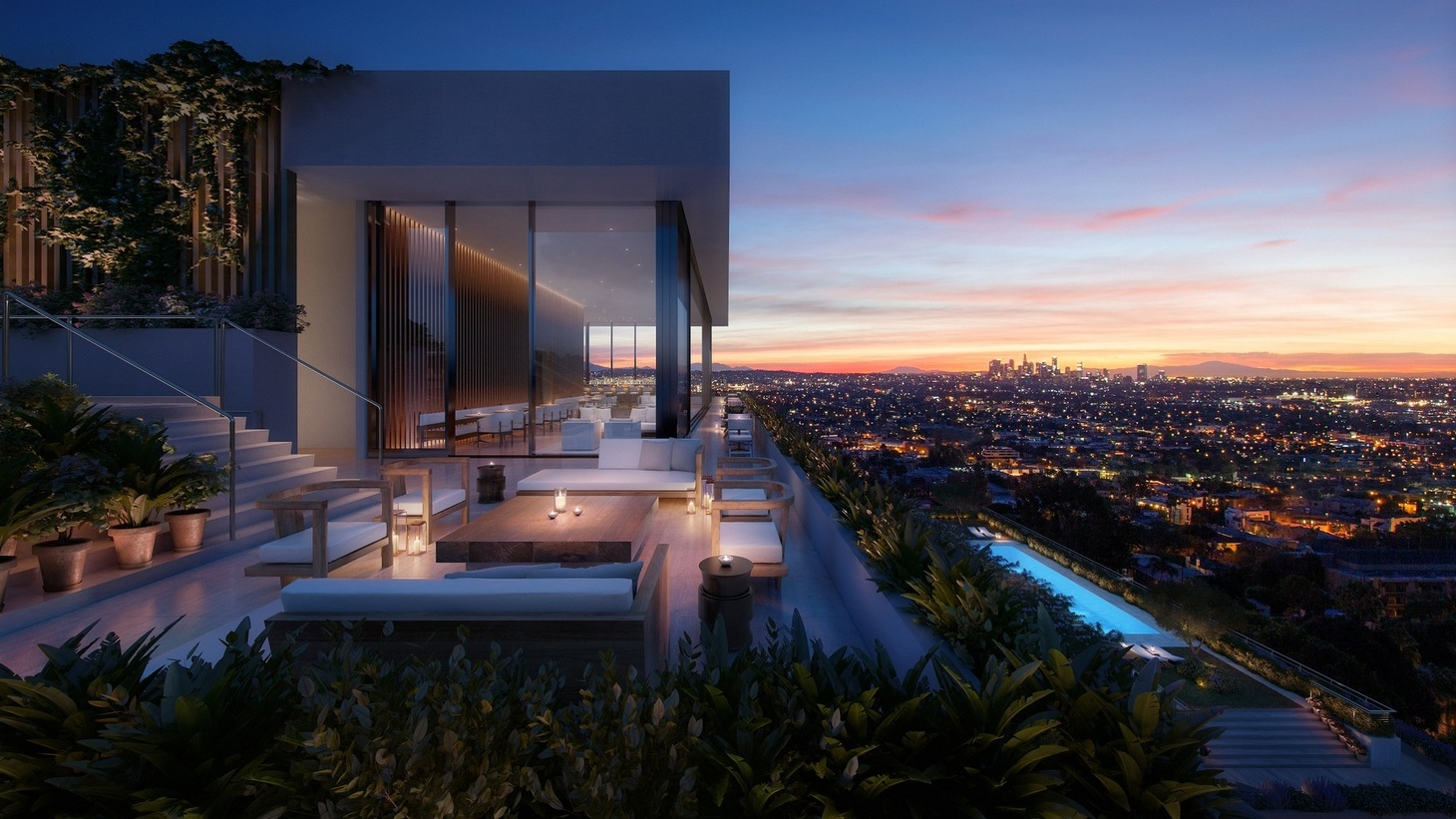 The West Hollywood Edition, designed by John Pawson.