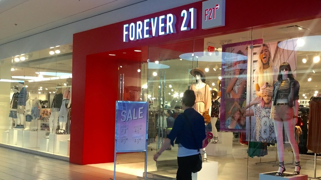 LA-based retailer Forever 21, which helped popularize fast fashion with $10 dresses and $20 jeans, announced last month it would file for bankruptcy.