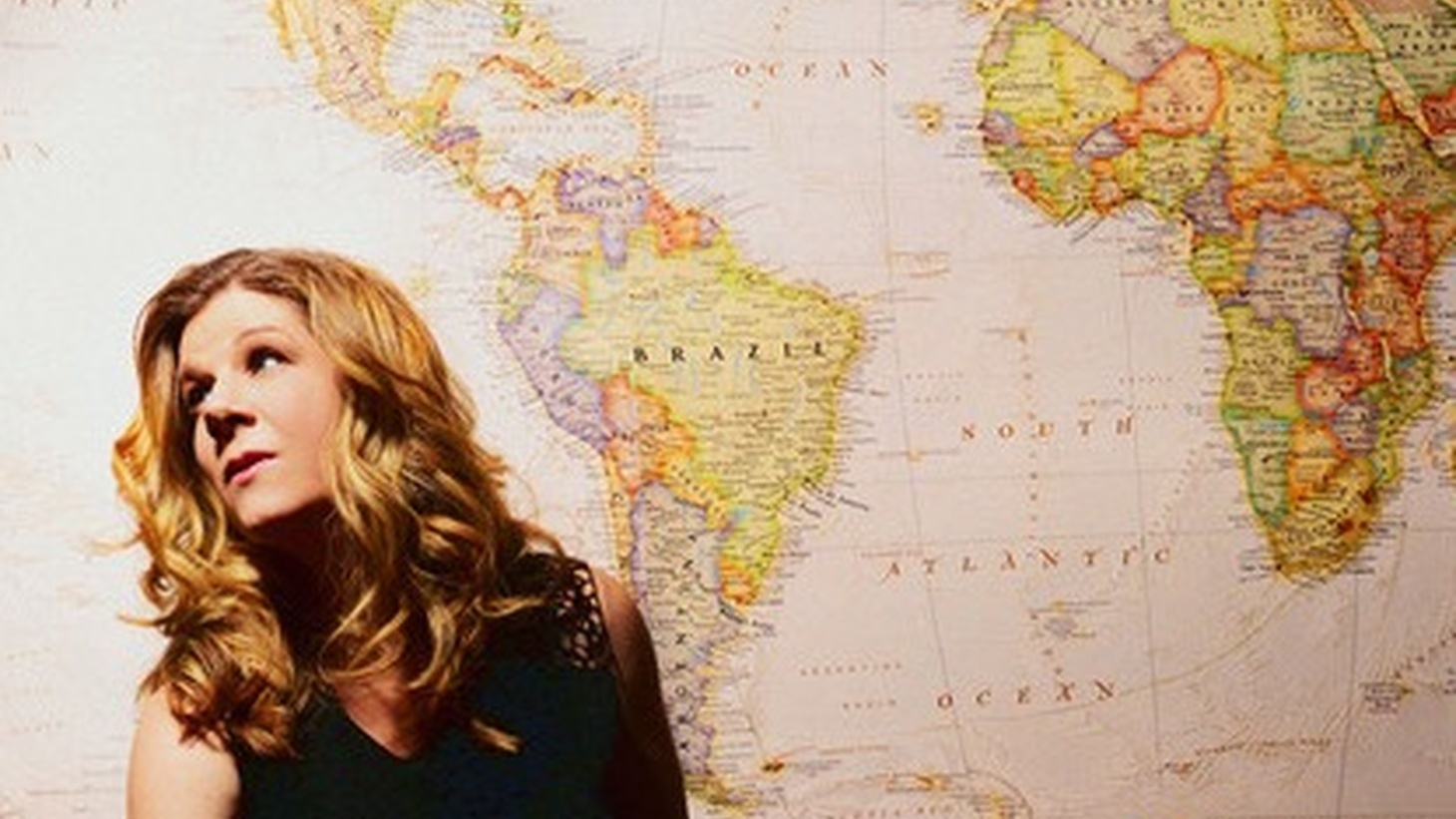 """Folk singer Dar Williams, author of """"What I Found in a Thousand Towns""""."""