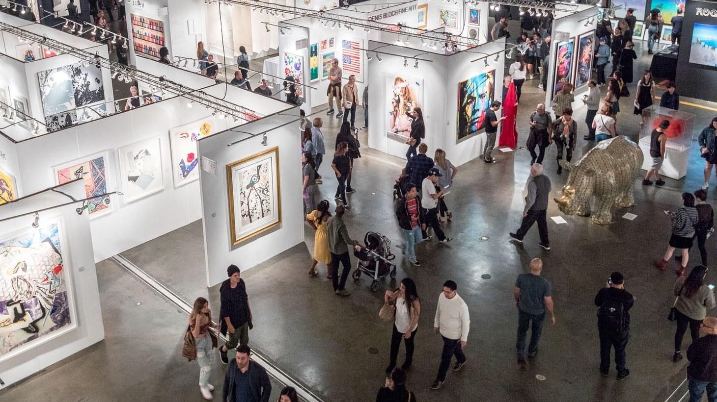 L.A. Art Show 2019.