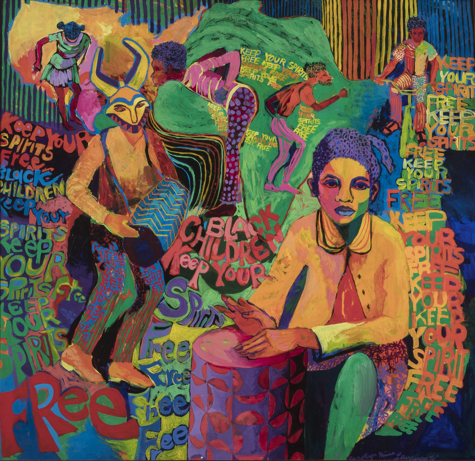 Carolyn Lawrence - Black Children Keep Your Spirits Free_1972.jpg