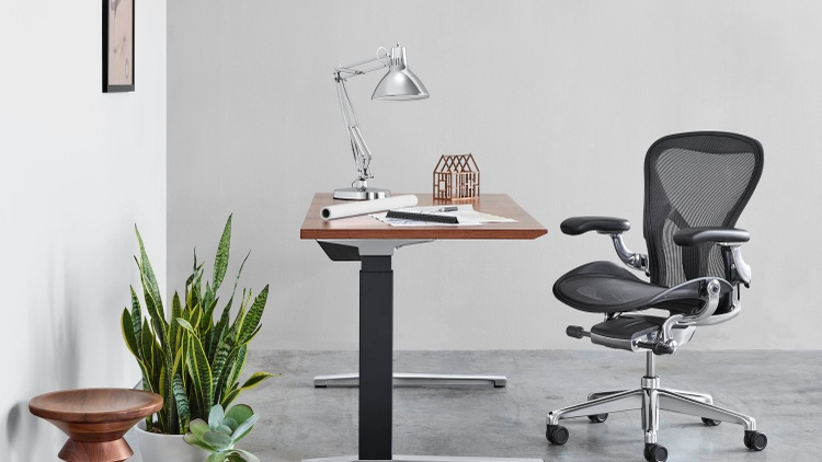 The newly designed Aeron chair Photo courtesy Herman Miller   Design firm Herman Miller first launched its popular Aeron chair in 1994. Designers Bill Stumpf and Don Chadwick replaced…