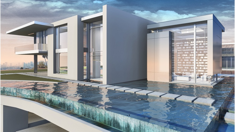 """DnA visits The One, a """"gigamansion"""" under construction in Bel Air with a record- breaking price tag of $500 million."""