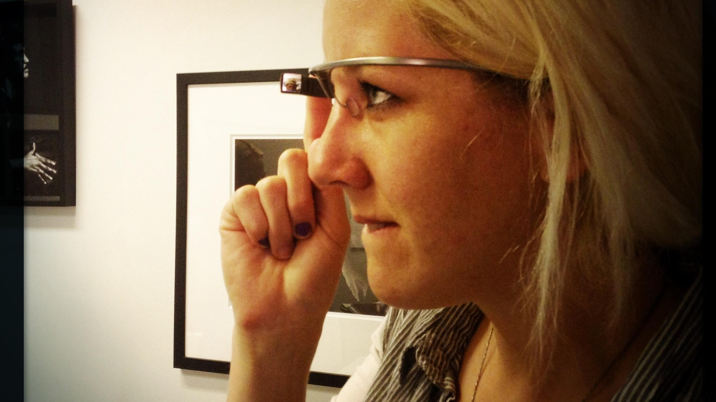 Betsy Moyer and Bianca Bosker try out Google Glass and share the experience. Is Glass a window into our Cyborgian future? Or a gizmo in search of a reason to exist?