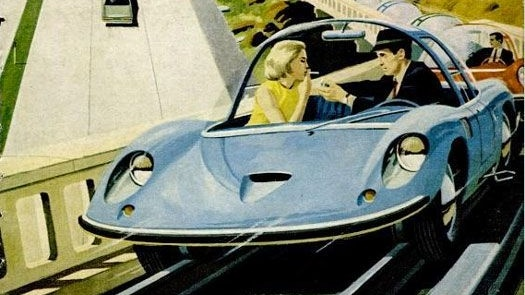 An issue of Popular Science from 1967 shows the influence of the space age on car design.