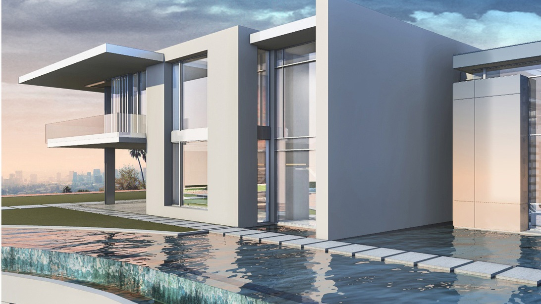 "A rendering of The One, a $500 million Bel Air ""gigamansion"" being built by luxury real estate developer Nile Niami."