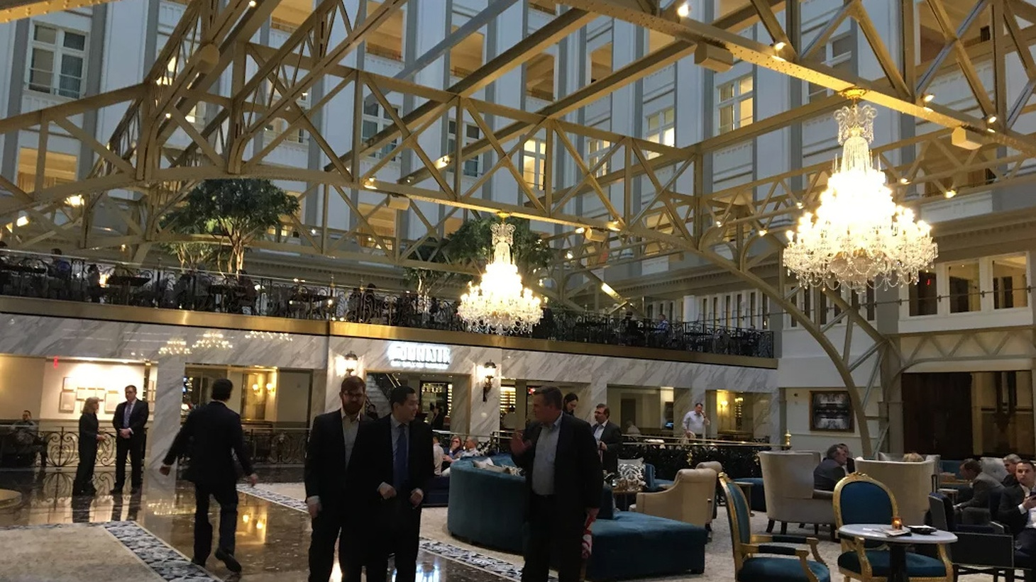In Washington, DC, the historic Old Post Office Pavilion has earned a second life as Trump International Hotel. The luxury hotel with a restaurant and bar has become a favorite hangout for the DC elite. It's also earned criticism -- including a lawsuit by owners of a nearby wine bar -- because President Trump, his family and White House staffers continually promote the hotel.