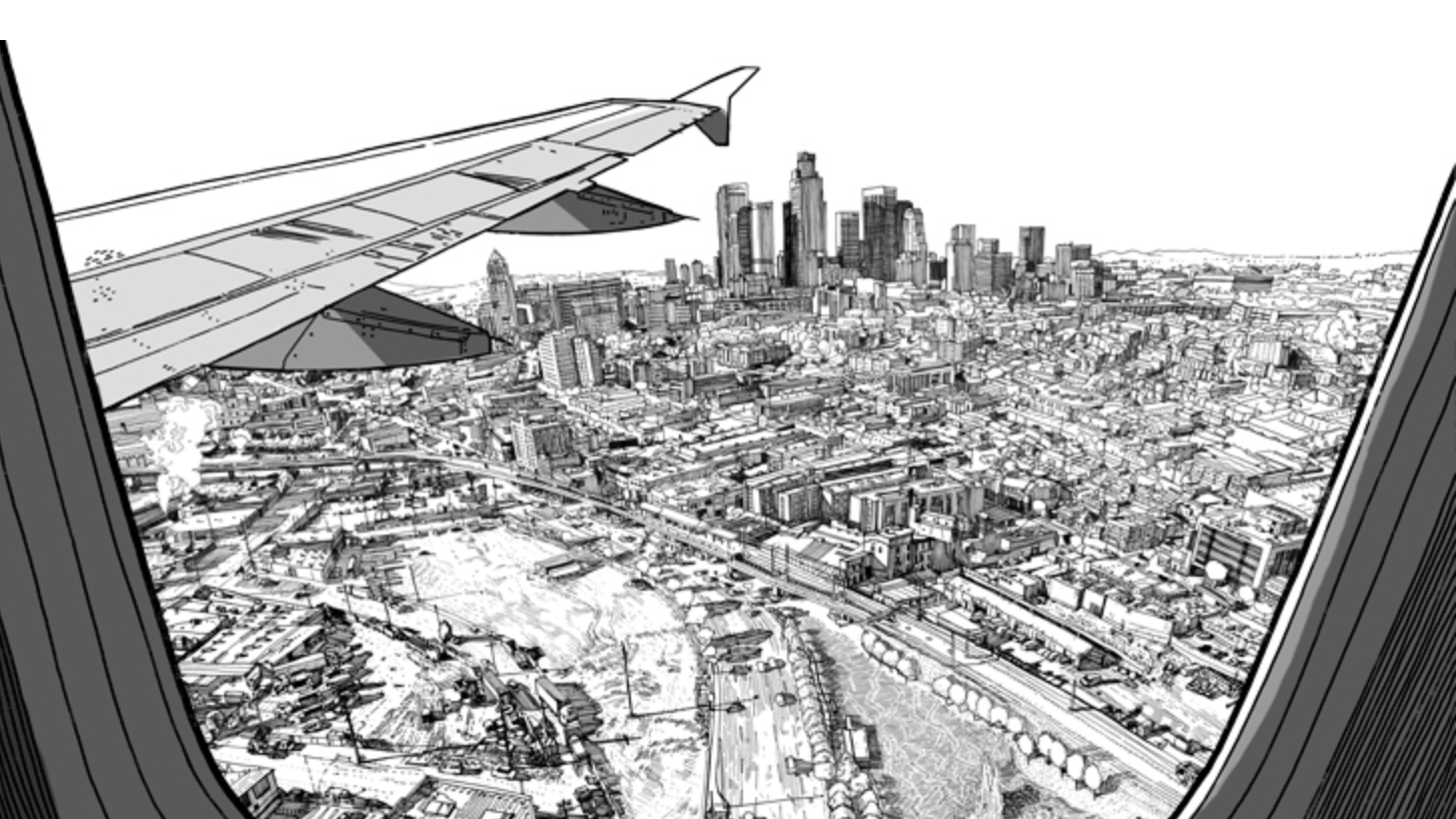 """Patrick Vale illustrated """"The 99% Invisible City"""" with drawings that would not be too specific."""