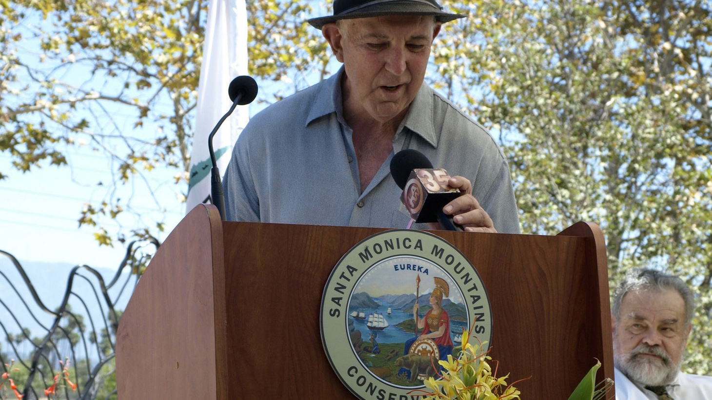 The Los Angeles River is losing one of its fiercest advocates. Lewis MacAdams founded Friends of the Los Angeles River three decades ago, and will soon step down as president.