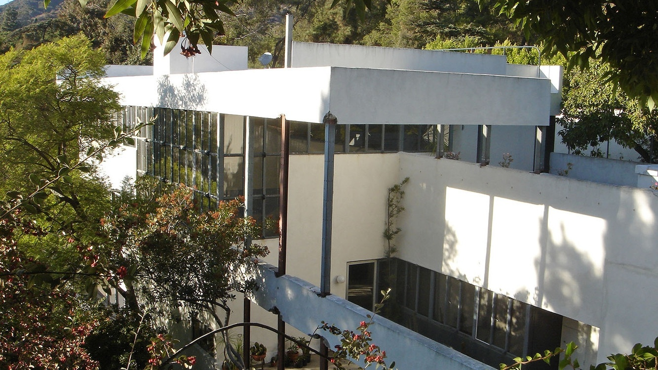 The Lovell Health House, designed by Richard Neutra.