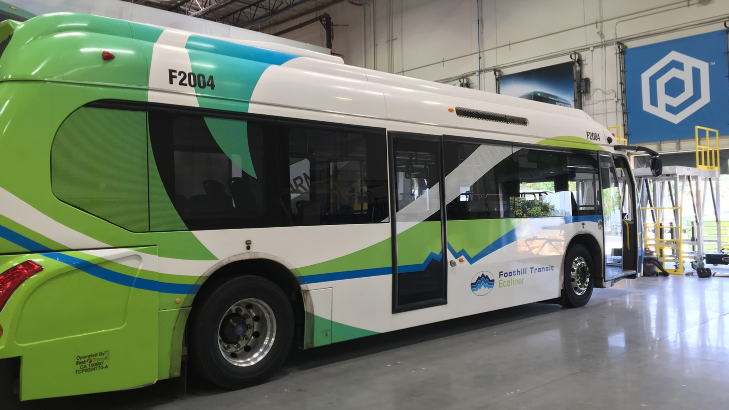 There's a highly-charged competition going on in Los Angeles right now. And it's between manufacturers of electric buses.