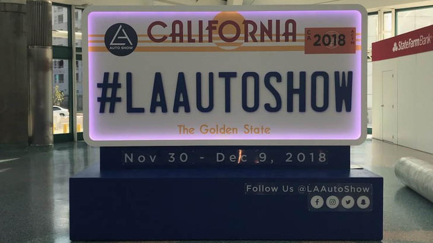 The LA Auto Show runs through Sunday, December 9th.