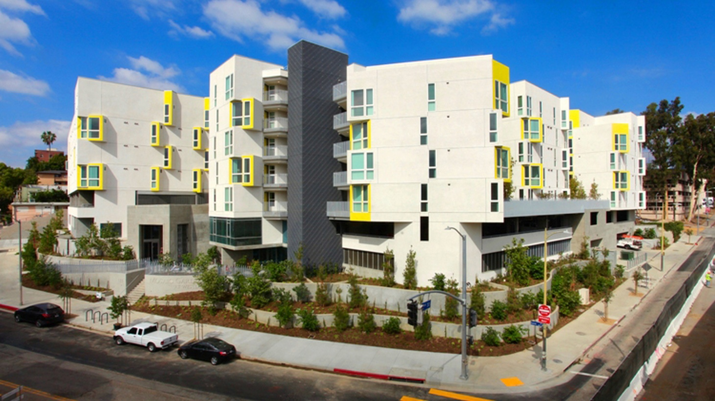 A new supportive housing complex opened last week for formerly homeless families, low-income people and seniors.