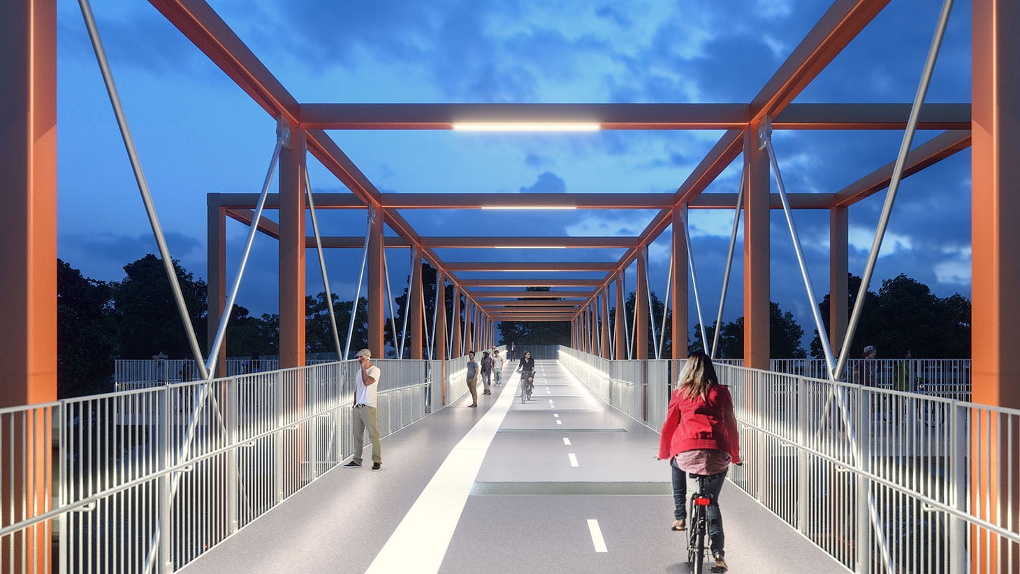 The LA City Council approved a new bridge this week to cross the Los Angeles River. It would connect Frogtown, otherwise known as Elysian Valley, to Taylor Yard, a former railway site in Cypress Park.