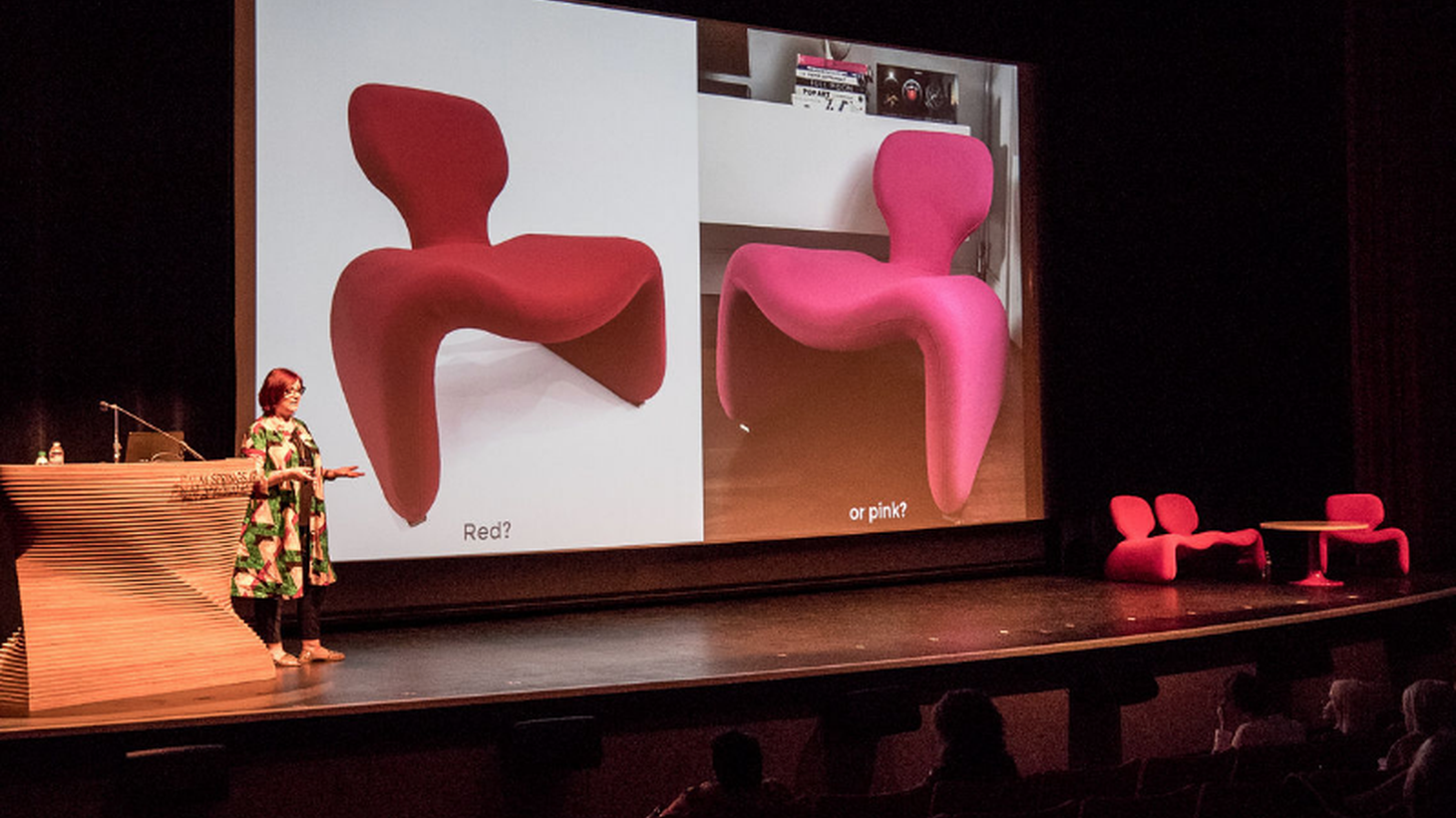 Paula Benson talks about why Stanley Kubrick chose the Djinn chairs, designed by Olivier Mourgue, for 2001: A Space Odyssey.