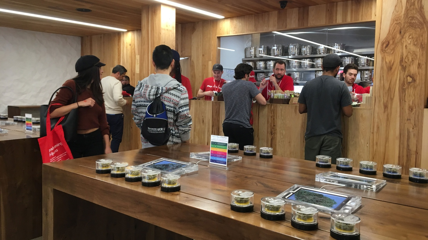 California's recreational pot marketplace is open for business and, already, sales are booming. Take yesterday, for example: marijuana sales jumped more than 300 percent above last month's daily average.