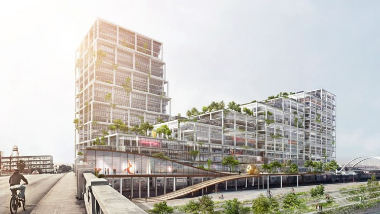 Rendering of 670 Mesquit Image via BIG   Danish architect Bjarke Ingels and his firm Bjarke Ingels Group, or BIG, is one of the most sought-after architects in the world right now.…