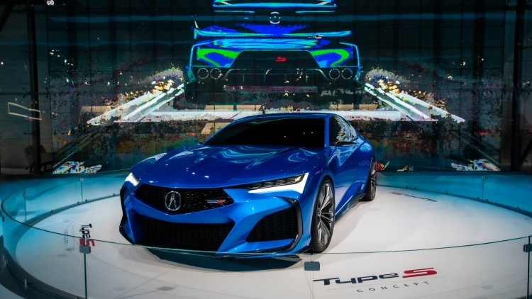 Go to the LA Auto Show at the Convention Center, and of course all the cars will be vivid colors.