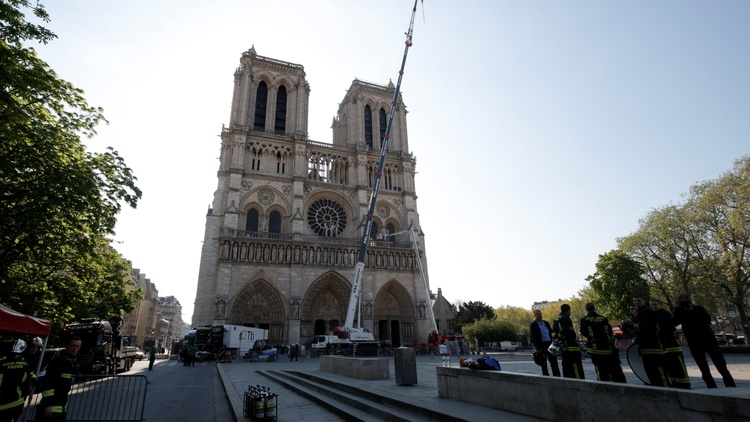 Just two days after the shocking fire at the Notre Dame cathedral in Paris, the French government announced an international competition to redesign the spire.
